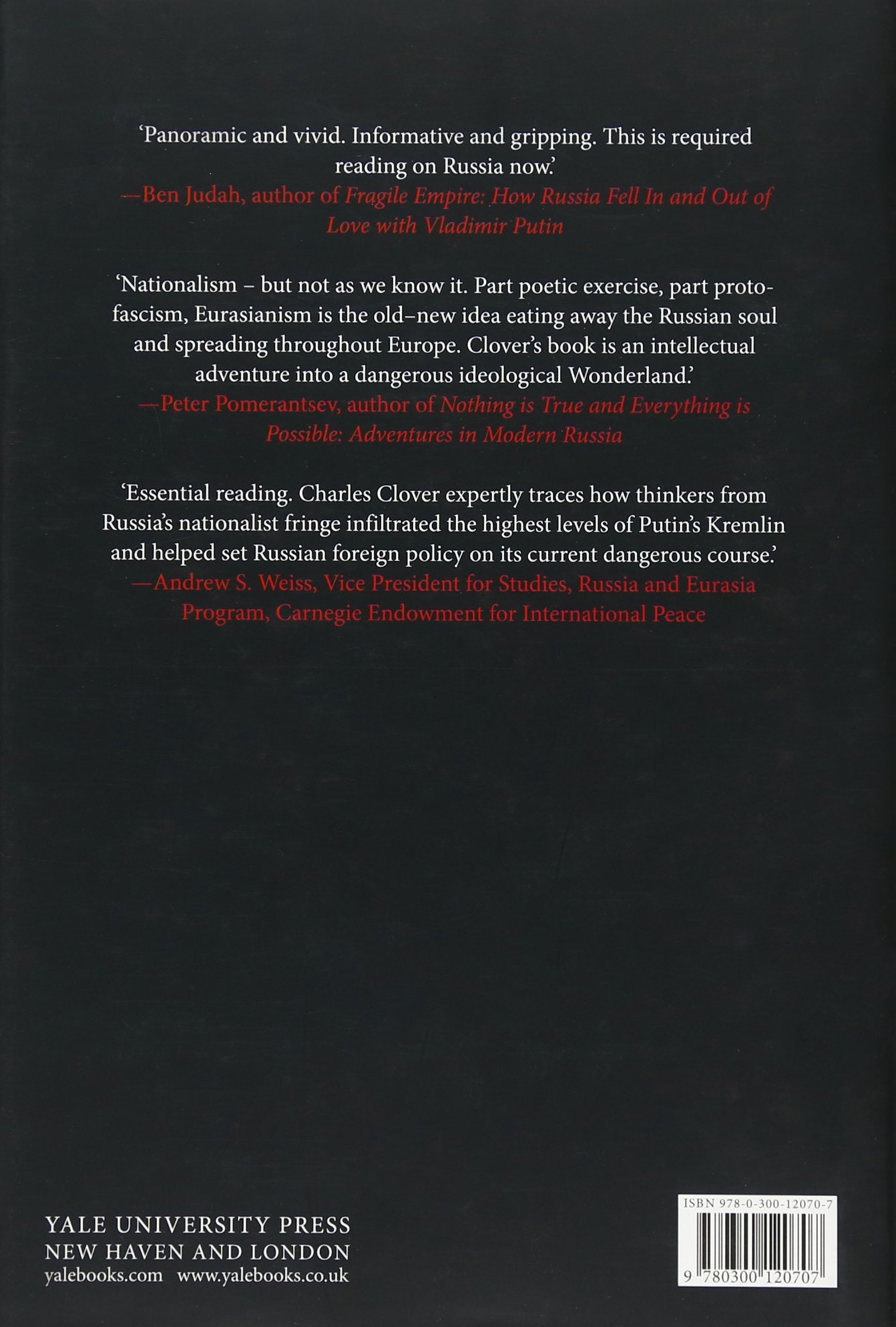 Black Wind, White Snow: The Rise of Russia's New Nationalism: Charles Clover: 9780300120707: Amazon.com: Books