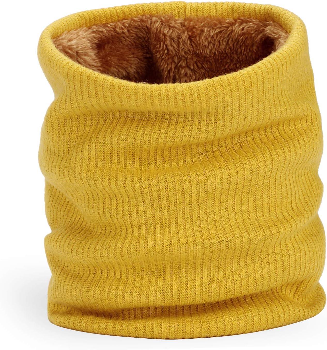 Yidarton Bonnet Femme Hiver Tricot avec Trou pour Queue de Cheval Beanie Chapeau