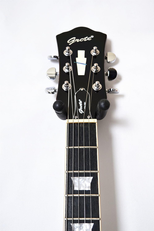 GROTE 6 String - Guitarra eléctrica de madera maciza: Amazon.es ...