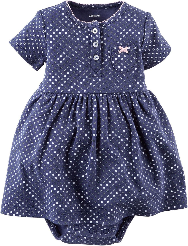 Carters Bodykleidchen Kleid mit Bolero Babykleid mit Jacke Sommer Set Kombitation outfit s/ü/ß Bodykleid Kleid