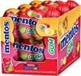 Mentos Sugar-Free Chewing Gum, Red Fruit Lime, 50 Piece Bottle (Pack of 6)