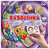 KSG Arts and Crafts Baboushka 0925 Russian Doll Painting Kit