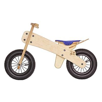 Rueda Madera Niños Bicicleta sin pedales de dipdap respetuoso con el medio Dipdap: Juguetes y juegos
