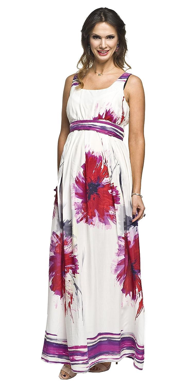Sommerkleid für Schwangere und Nicht-Schwangere Damen - Umstandskleid - Modell: MAXI