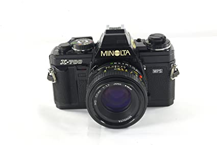 amazon com minolta x 700 film camera and a 50mm f 1 7 manual focus rh amazon com Zoom R16 Manual Novo Focus Manual