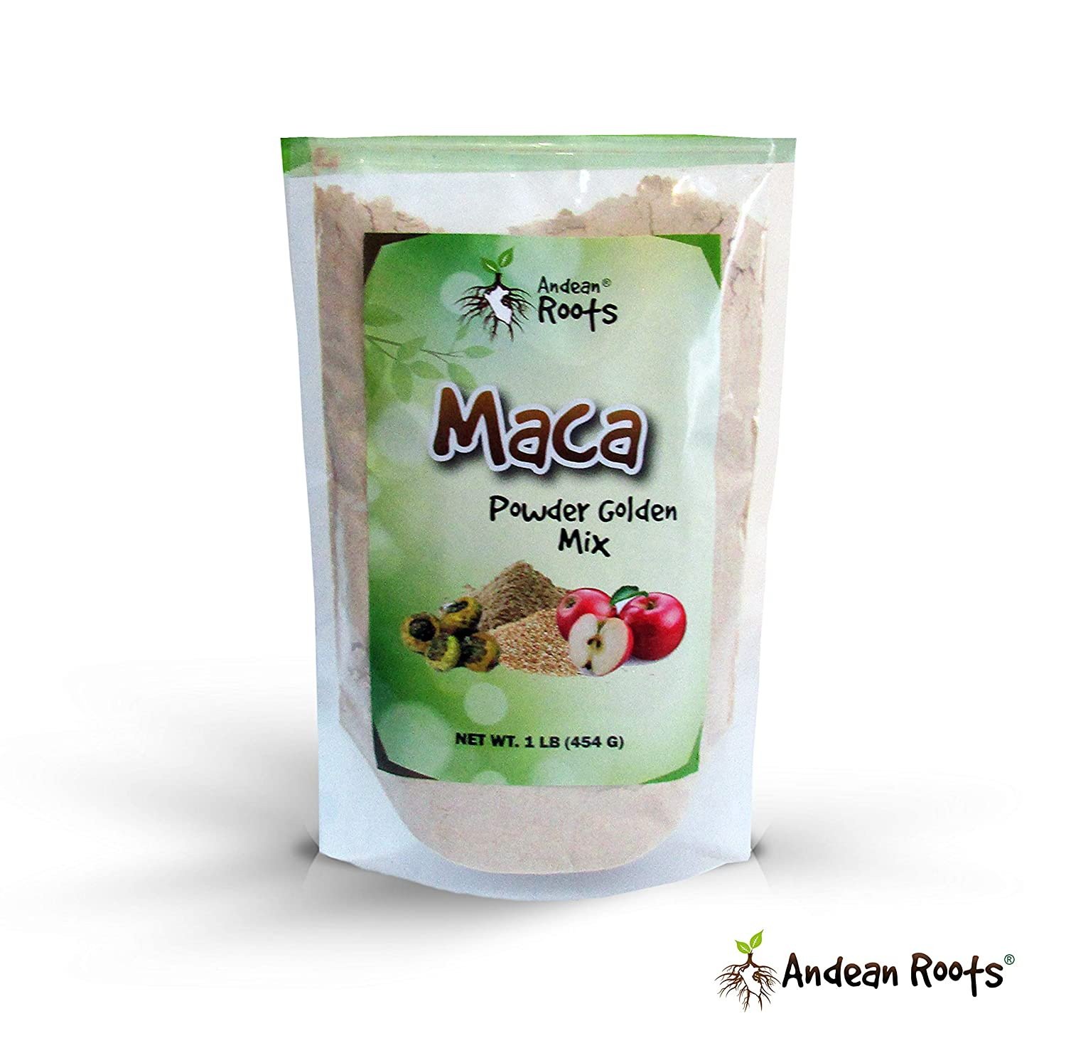 Amazon.com: Andean Roots Peruvian Maca Powder Golden Mix, Gelatinized 1 lb Bag: Health & Personal Care