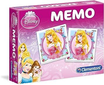 Clementoni 13401 - Juego Educativo de Memoria, diseño de Princesas Disney: Amazon.es: Juguetes y juegos