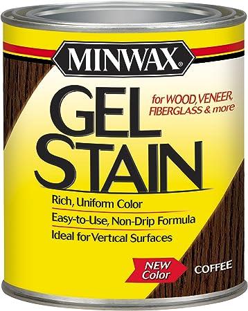 Minwax 260914444 Interior Wood Gel Stain 1 2 Pint Coffee Amazon Com