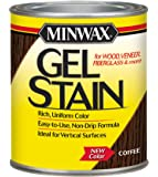 Minwax 660910000 Gel Stain, quart, Coffee