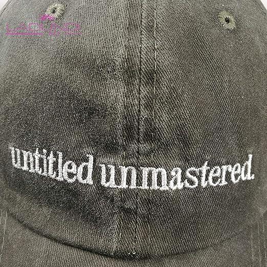 565409678af CHENTAI Women Men Snapback Cap Kendrick Lamar Untitled Unmastered  Embroidery Hip hop Rap Baseball Hats 6 Panel Dad Hat at Amazon Men s  Clothing store