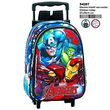 Avengers Return - 54287 - Mochila infantil con ruedas.: Amazon.es: Equipaje