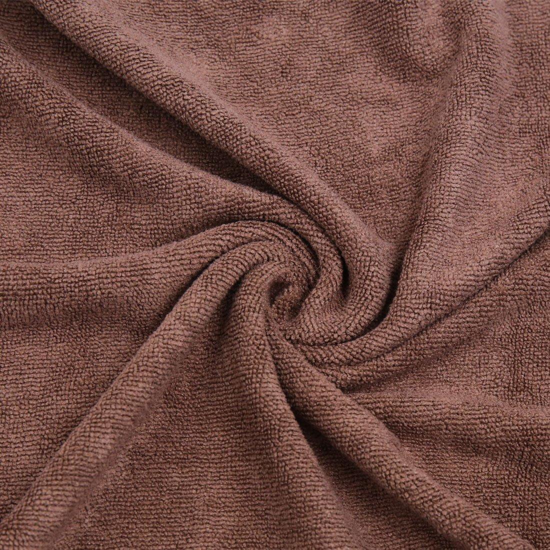 Amazon.com: eDealMax 2pcs púrpura del café del coche del Color Pulido paño de limpieza de Lavado de toallas 33cm x 65cm: Automotive
