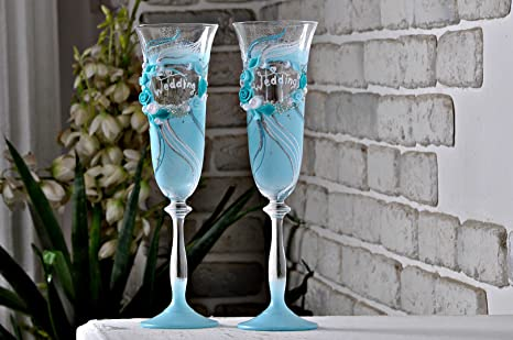 Amazon Magik Life Wedding Champagne Toasting Flutes For Party