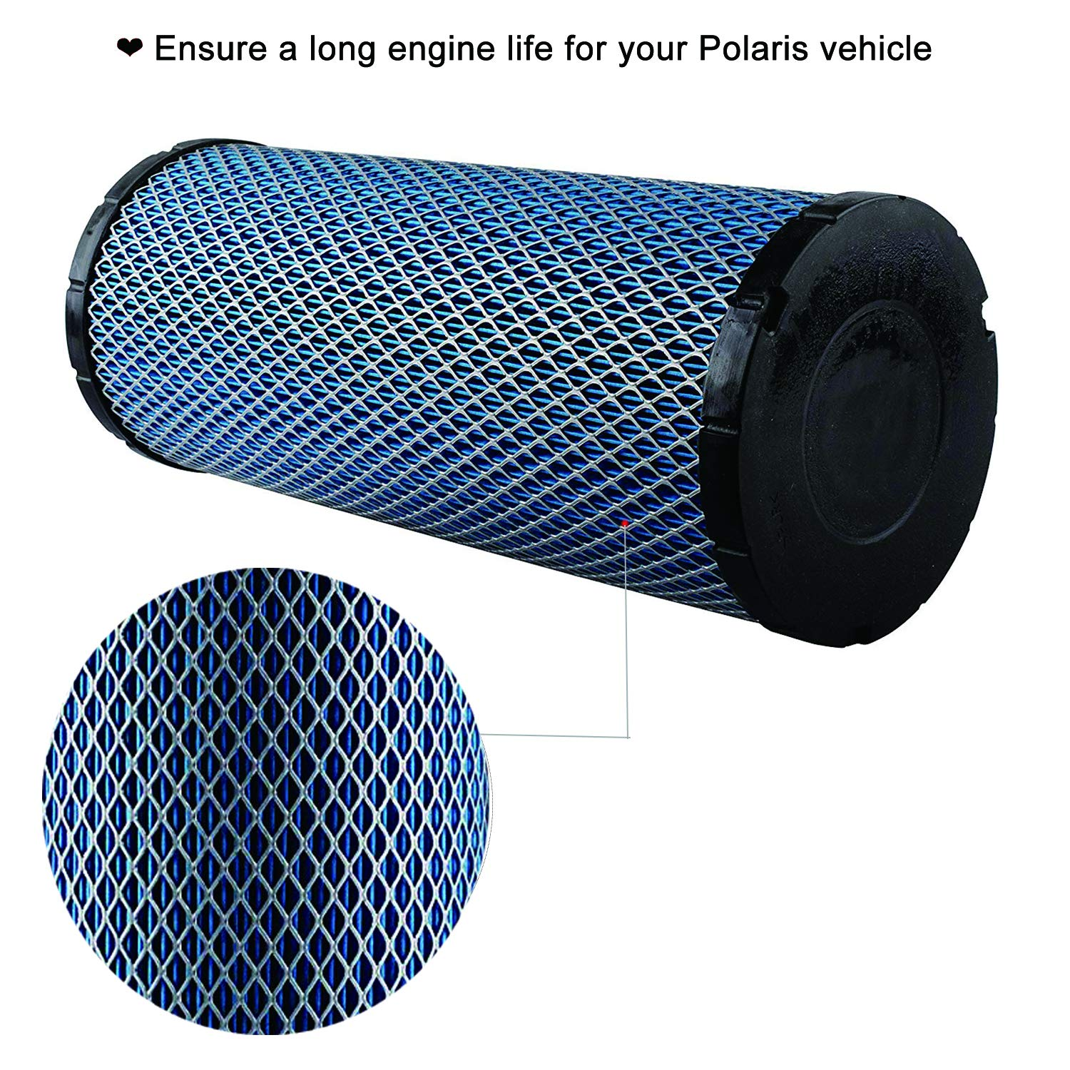 7082115 Air Filter Replacement Compatible with Polaris ACE 900, General 1000, General 4 1000, RZR 4 900, RZR 900, RZR S 1000 2015-2018 by Wddby (Image #4)