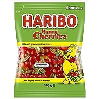 HARIBO Happy Cherries Gummy Candy, 140g | Cherry