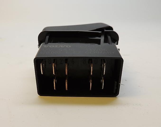 for diagram rocker wire switch volvo 20470609 schematic diagram  for diagram rocker wire switch volvo 20470609 wiring schematics amazon com volvo truck 1624121 rocker switch