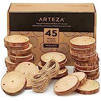 Arteza Rodajas de madera para manualidades | 6-7