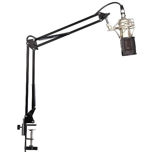 4 opinioni per Mugig Microfono a Condensatore, Kit microfoni per registrazione trasmissione