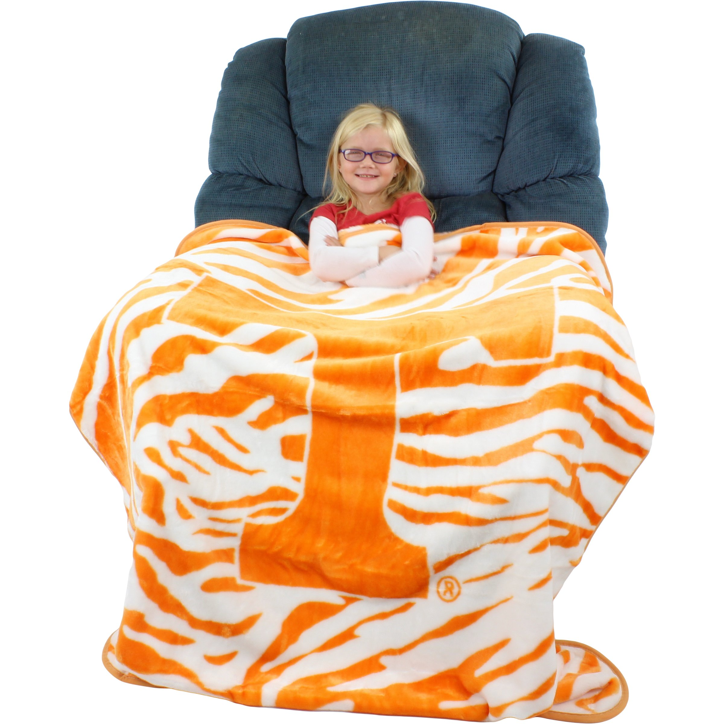 College Covers Rachel Throw Blanket, 50'' x 60'', Tennessee Volunteers by College Covers