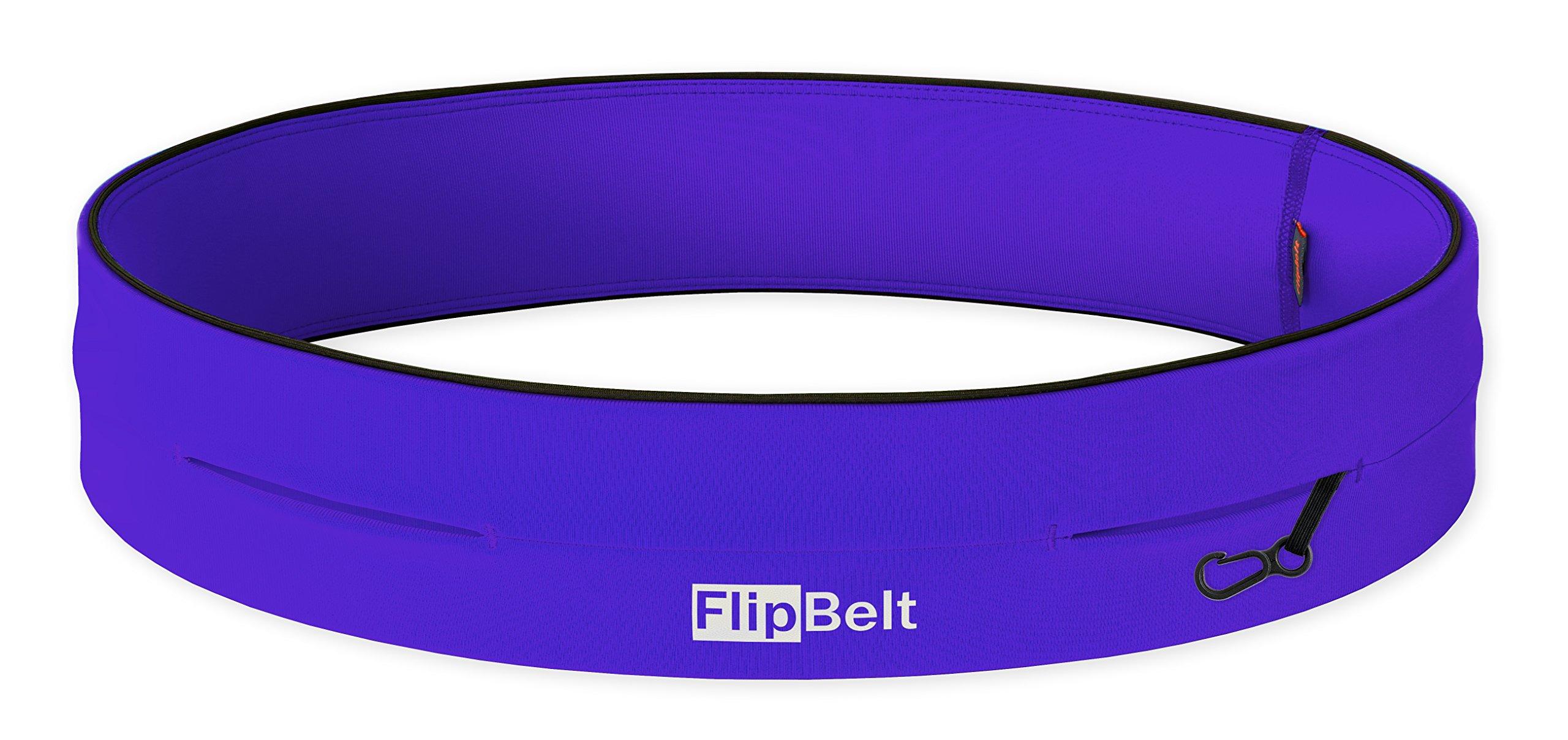 FlipBelt Level Terrain Waist Pouch, Violet, X-Small/22-25