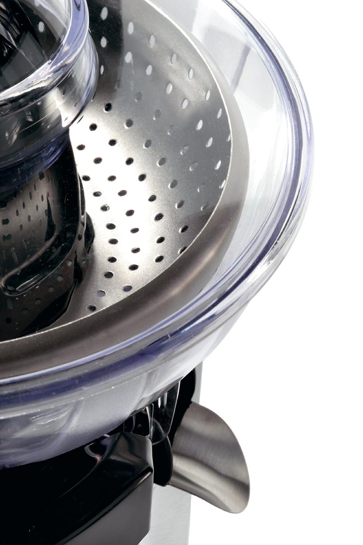 Cuisinart CCJ210E Exprimidor de Acero Pulido con función Turbo, 1000 W, Negro y Plateado: Amazon.es: Hogar
