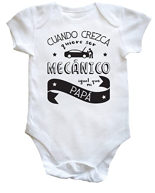 Ropa Niños Y Pijama es Mi Ser Accesorios Quiero Bodys Body Amazon Que Cuando Unisex Mecánico Crezca Papá Igual Niñas Hippowarehouse U7TSwPS