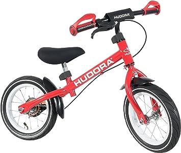 HUDORA Laufrad Ratzfratz Air Infantil Unisex Rojo bicicletta - Bicicleta (Propenso, Rojo, Sin Cadena, De piñón Fijo, Freno de Mano, Tambor): Amazon.es: Deportes y aire libre