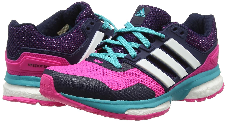 Adidas Response 2 W W 2 Damen Laufschuhe Mehrfarbig (Shock Pink/Ftwrr Weiß/Shock Grünshock Pink/Ftwrr Weiß/Shock Grün) c63caa