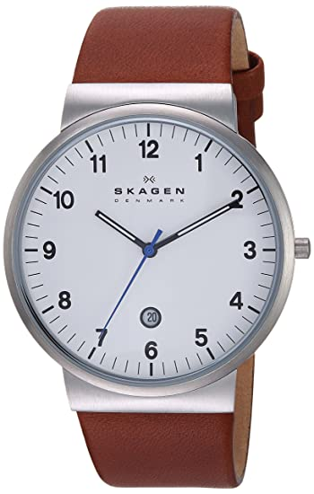 f491882a3fb Buy Skagen Analog White Dial Men s Watch - SKW6082 Online at Low Prices in  India - Amazon.in