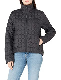 7e641214d Amazon.com: The North Face Women's Thermoball Crop Jacket, Asphalt ...