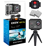 EKEN H9R Plus Ultra HD Action Camera 4K 14MP 100ft Underwater Waterproof Cam Remote Sports Camcorder Panasonic Sensor 170° Angle Lens with 2 Batteries Accessories Kit and Tripod