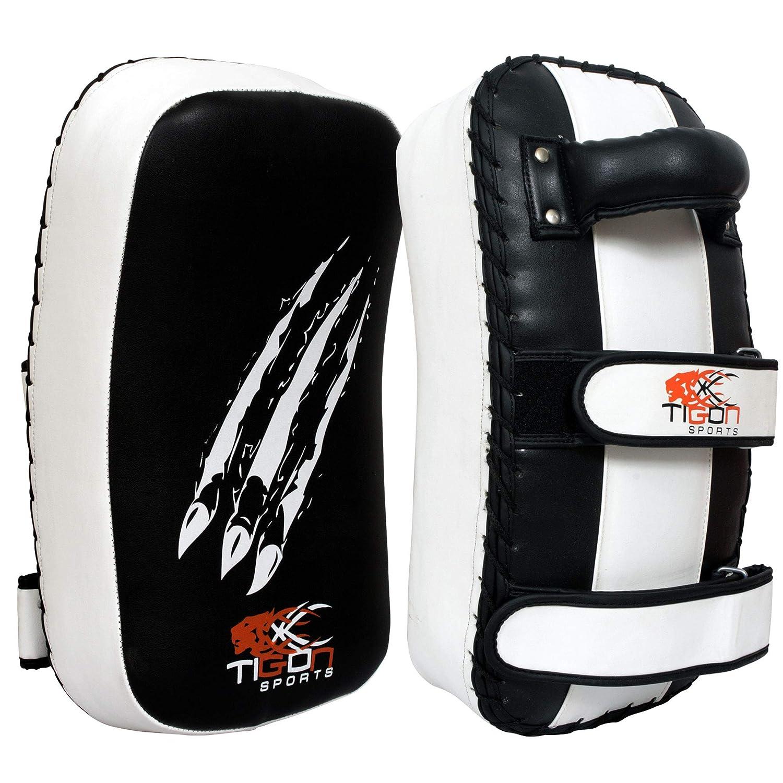 Almohadillas acolchadas almohadillas curvadas de boxeo y deportes de contacto Tigon Sports