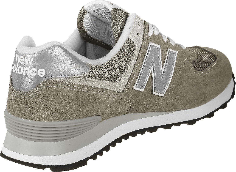 c742751de2463 Amazon.com | New Balance Men's Shoes 574 Classic Sneaker 7 D Grey | Road  Running