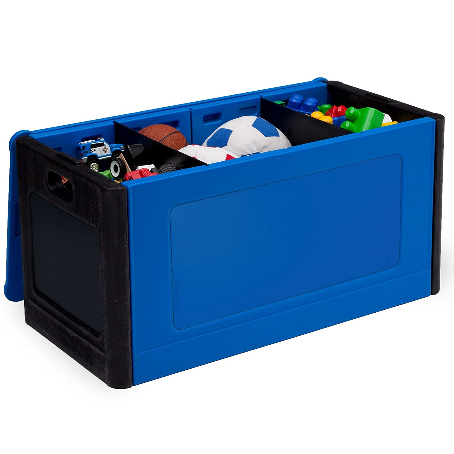 Delta Children Store and Organize Toy Box Red