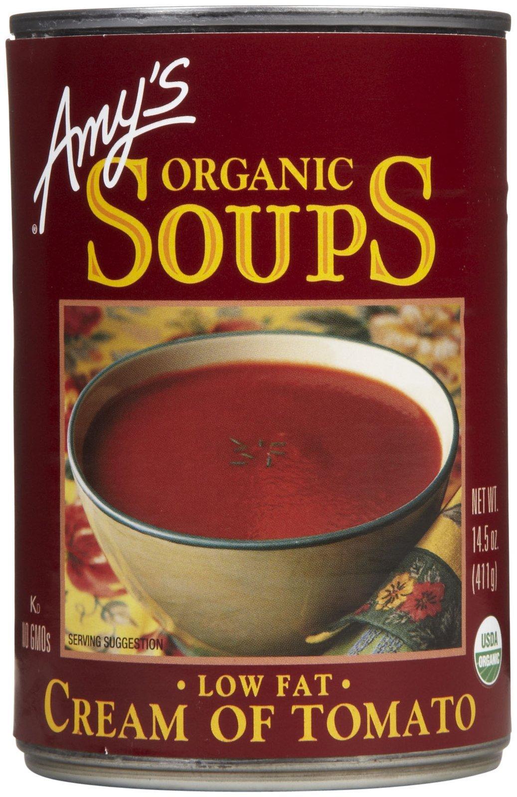 Amy's Organic Soups Cream of Tomato - 14.3 oz - 12 Count