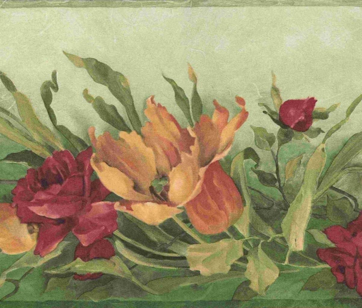 Brewster Wallcovering Floral   Wallpaper Border