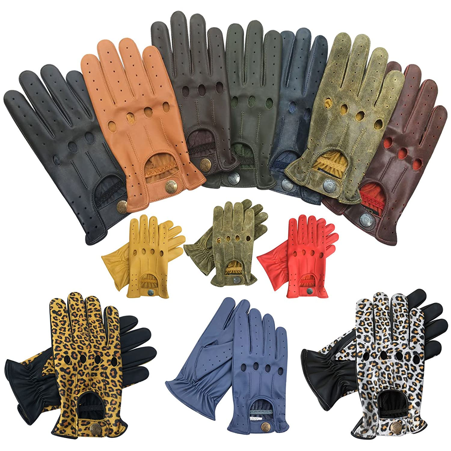 Mens leather driving gloves australia - Prime Leather Top Quality Real Soft Leather Men S Without Lining Driving Gloves Retro Glove In Ten