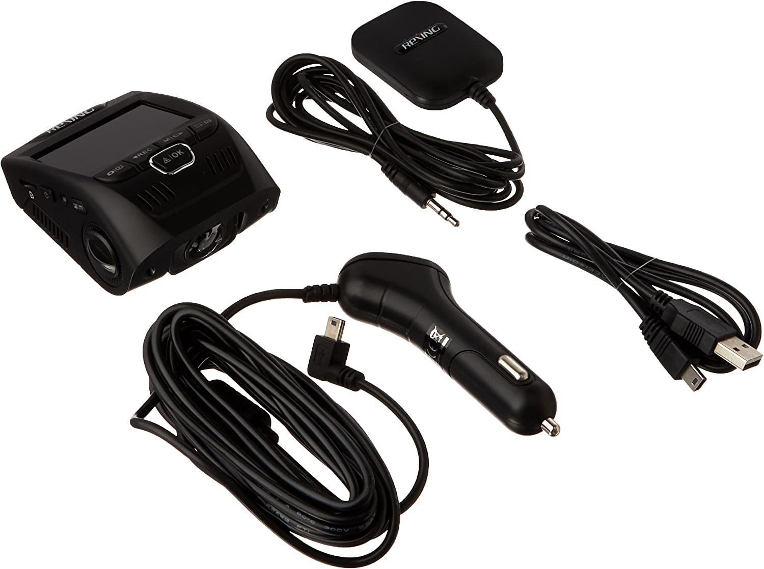 """Rexing V1 Car Dash Cam 2.4/"""" LCD FHD 170° Wide Angle Dashboard Camera Recorder"""