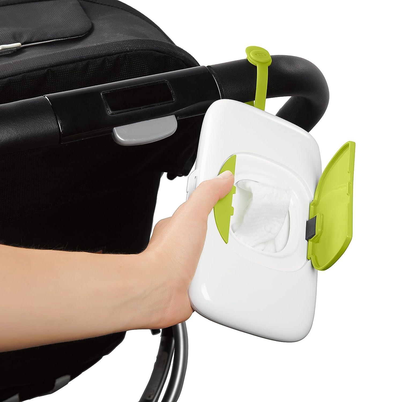 Green OXO Tot On-the-Go Wipes Dispenser