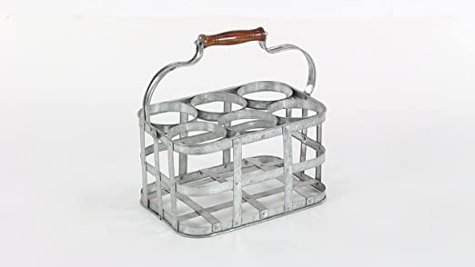 Amazon.com: Deco 79 Vino 6 botella mesa Vino rack: Home ...