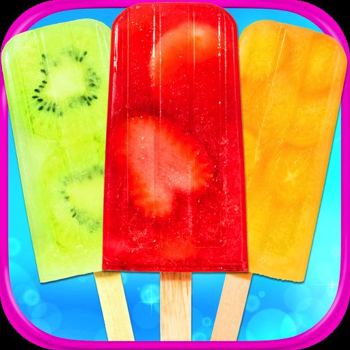 Fruity Ice Popsicles - Kids Frozen Yogurt Pops & Ice Summer Desserts FREE