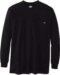 c4140289596 Dickies Men s Big   Tall Long-Sleeve Heavyweight Crew-Neck T-Shirt