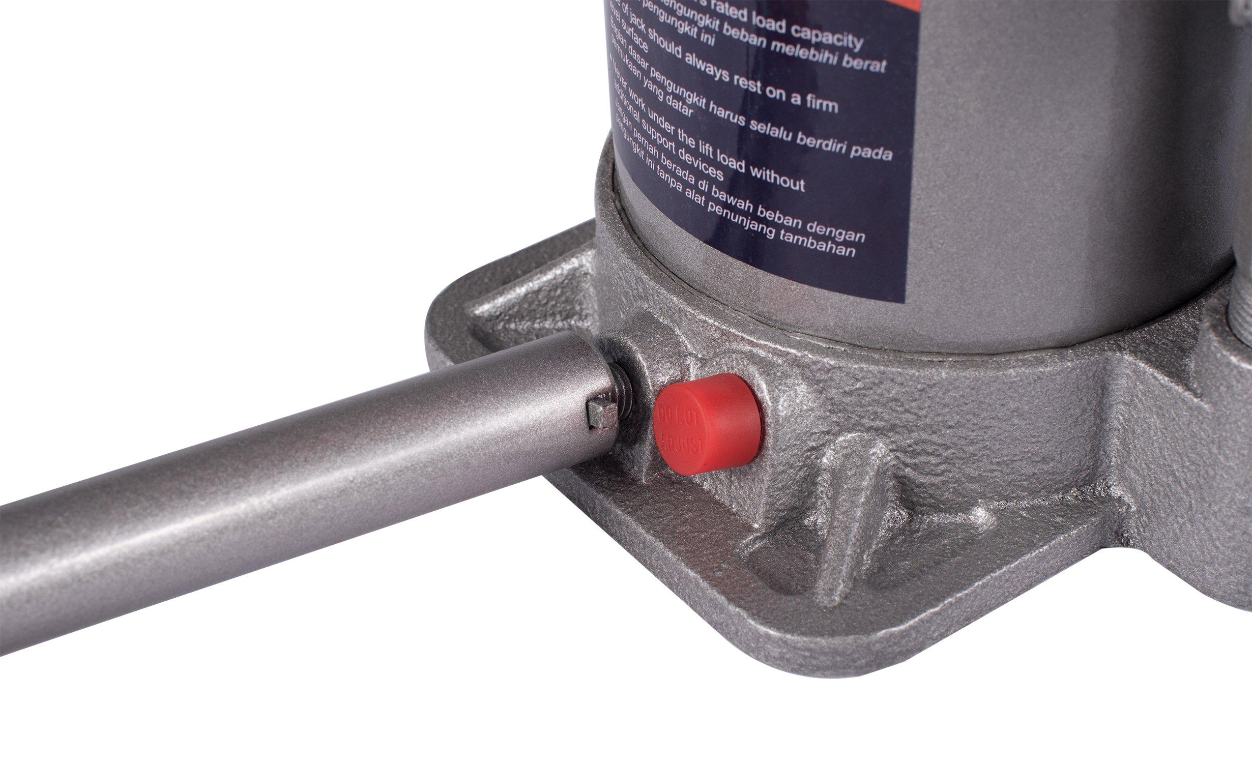 BAISHITE Hydraulic Bottle Jack 20 Ton Capacity Grey by BAISHITE (Image #8)