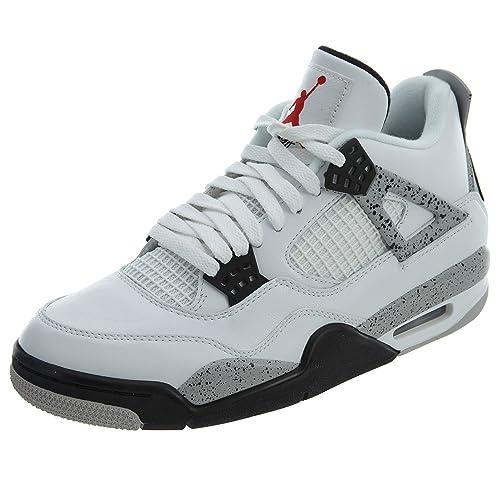 nouveau produit 13db1 590d4 Nike Air Jordan 4, Basses Homme: Amazon.fr: Chaussures et Sacs
