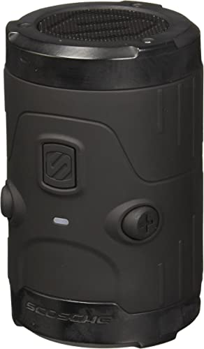 boomBOTTLE H2O Bluetooth Wireless Speaker Black