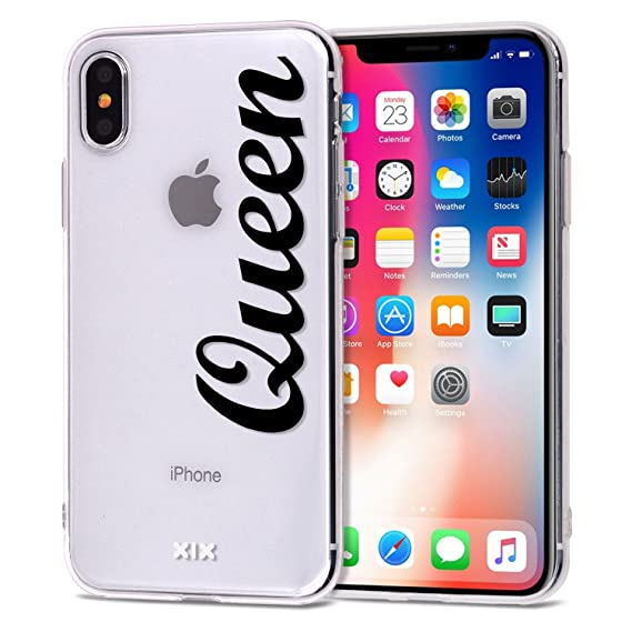 184b93250d iPhone X Case Queen Slim Fit Black Shockproof Bumper Cheap Cell Phone  Accessories Queen & King