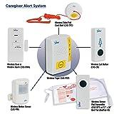 Secure Wireless Caregiver Alert System Monitors