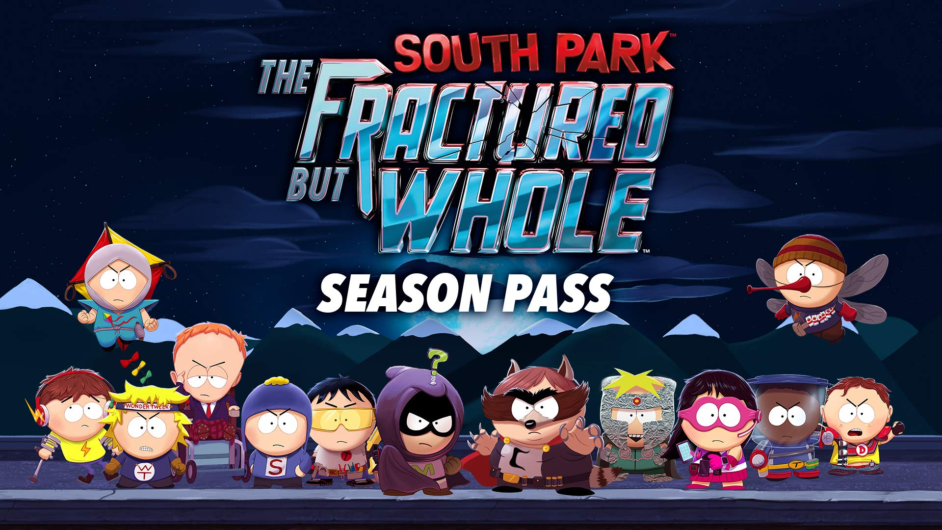 South Park : The Fractured but Whole Season Pass - Nintendo Switch [Digital Code]