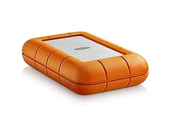 LaCie Rugged RAID 4TB (2x 2TB) Thunderbolt U0026 USB 3.0 Portable 2.5 Inch  External