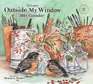 Legacy Publishing Group 2018 12-Month Wall Calendar, Outside My Window